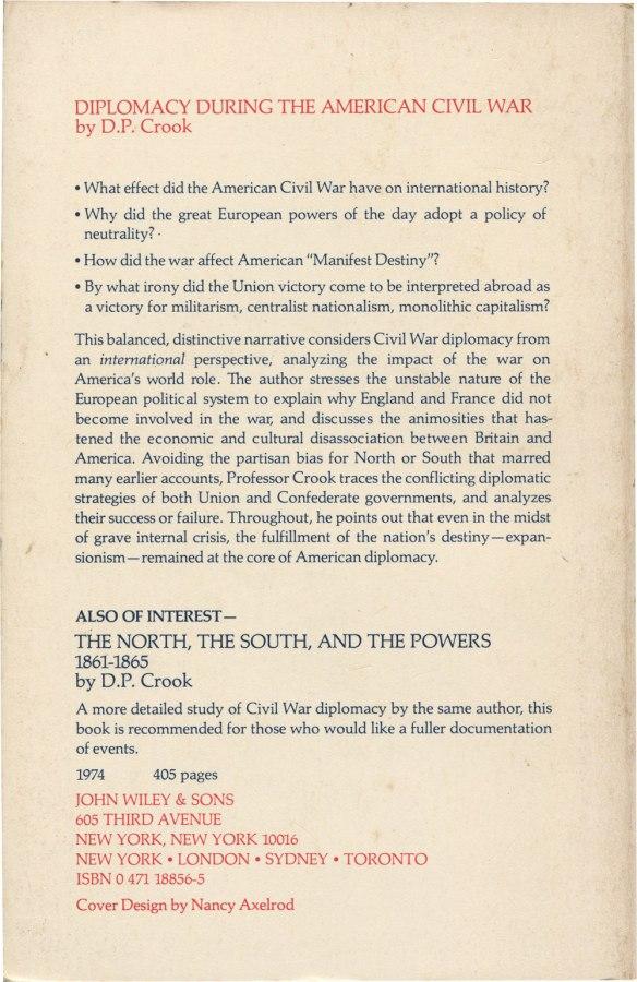 Diplomacy During the American Civil War